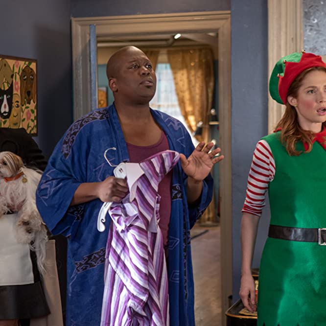 Jane Krakowski, Ellie Kemper, and Tituss Burgess in Unbreakable Kimmy Schmidt (2015)