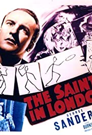 The Saint in London Poster