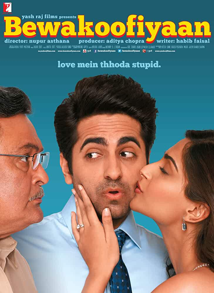 Download Bewakoofiyaan 2014 Hindi 480p BRRip x264 352MB - Movies365 Torrent