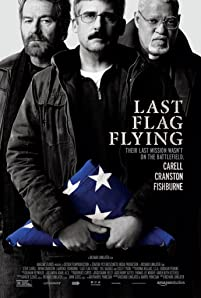 Bryan Cranston and Laurence Fishburne talk about friendship, grief, and 'Last Flag Flying,' the story of three Viet Nam vets who reunite to bury their friend's son, Larry, who died while serving with the U.S. Marine Corps in the Iraq War.