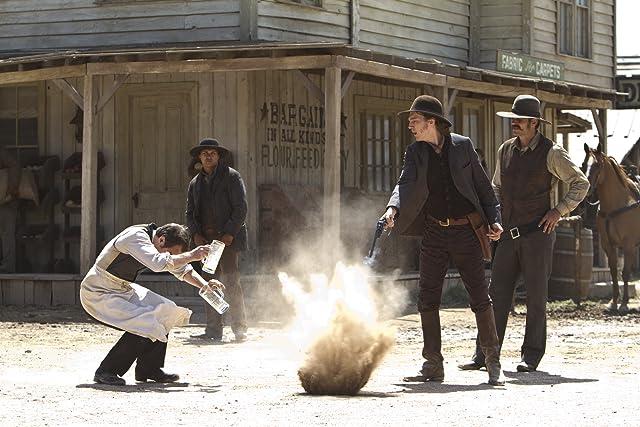 Sam Rockwell, Adam Beach, and Paul Dano in Cowboys & Aliens (2011)