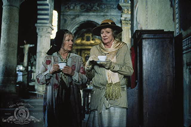Judi Dench and Maggie Smith in Tea with Mussolini (1999)