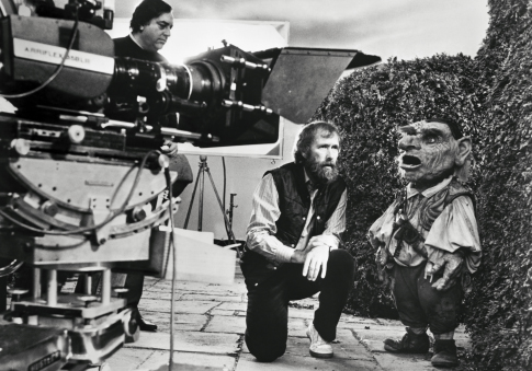 Jim Henson and Shari Weiser in Labyrinth (1986)