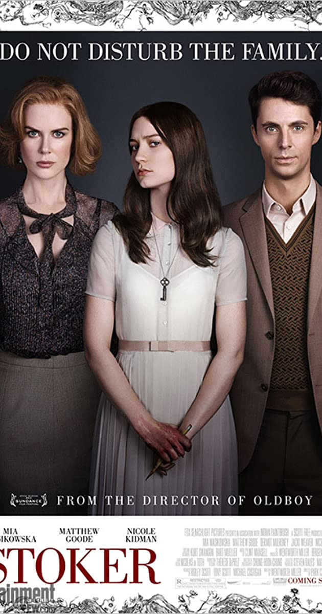 1000  images about Stoker on Pinterest | Mia wasikowska, Matthew ...