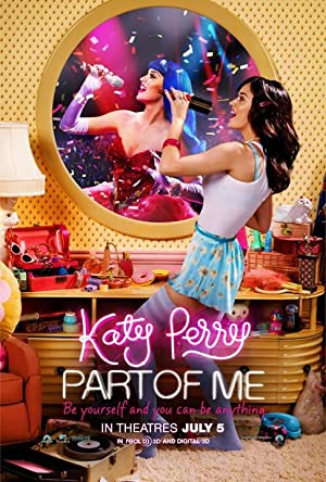 Katy Perry: Part of Me poster