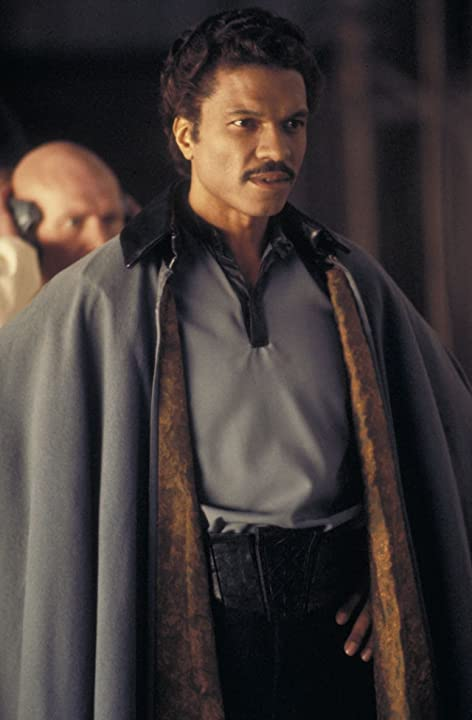 Billy Dee Williams and John Hollis in Star Wars: Episode V - The Empire Strikes Back (1980)