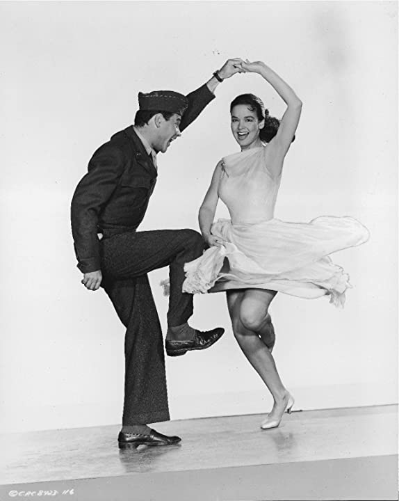 Jack Lemmon and Kathryn Grant in Operation Mad Ball (1957)