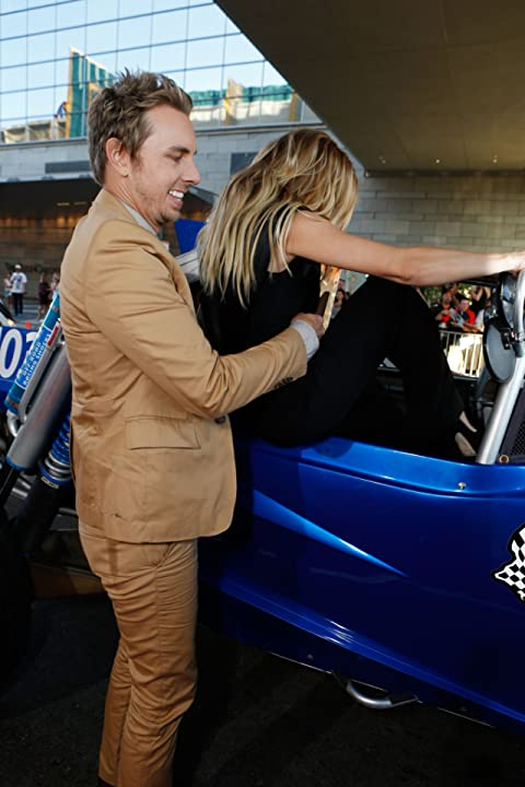 Kristen Bell and Dax Shepard at Hit and Run (2012)