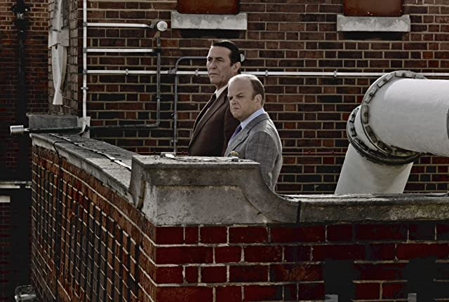 Ciarán Hinds and Toby Jones in Tinker Tailor Soldier Spy (2011)