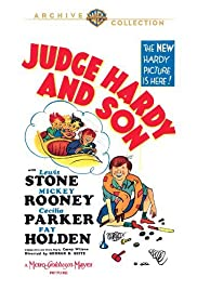 Judge Hardy and Son Poster