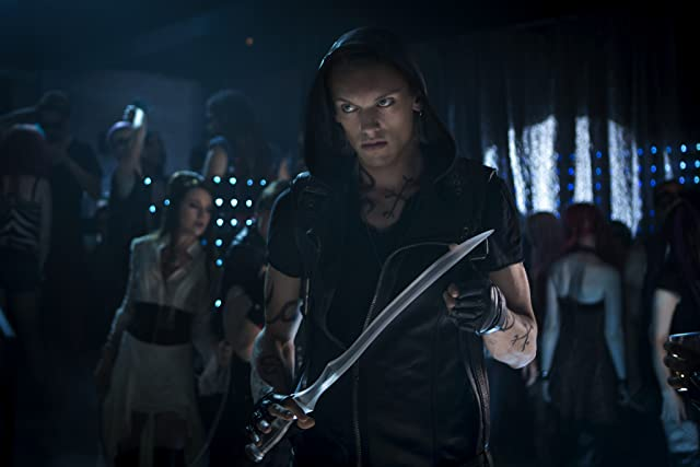 Jamie Campbell Bower in The Mortal Instruments: City of Bones (2013)