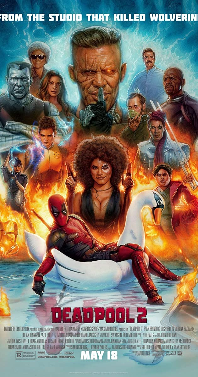 Deadpool 2 (2018) (BluRay)