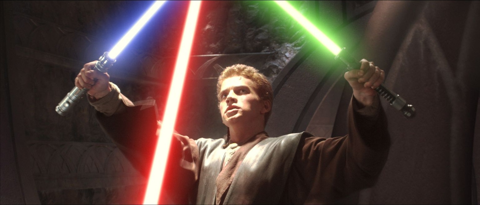 Hayden Christensen in Star Wars: Episode II - Attack of the Clones (2002)