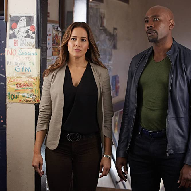Morris Chestnut and Jaina Lee Ortiz in Rosewood (2015)