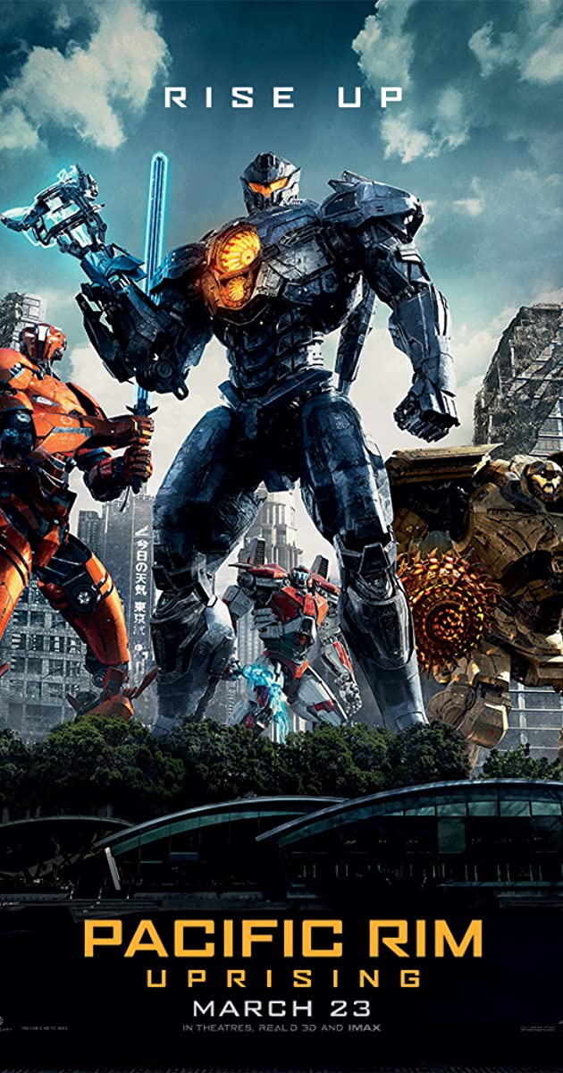 Pacific Rim: Uprising (2018) (BluRay)