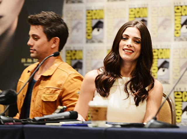 Jackson Rathbone and Ashley Greene at The Twilight Saga: Breaking Dawn - Part 2 (2012)