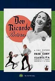 Don Ricardo Returns Poster