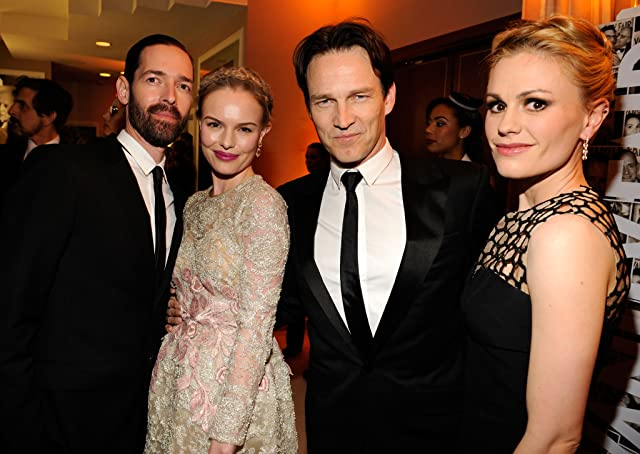 Anna Paquin, Kate Bosworth, Stephen Moyer, and Mark Polish