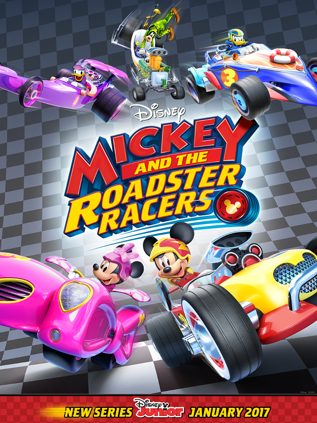 Mickey & the Roadster Racers [2017] [DVD-Full] [Latino]