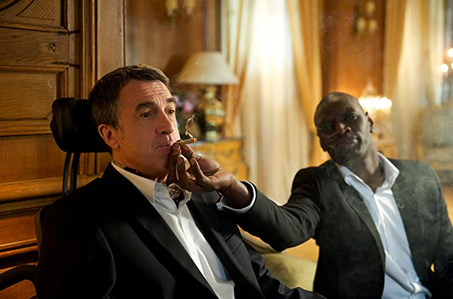 François Cluzet and Omar Sy in The Intouchables (2011)