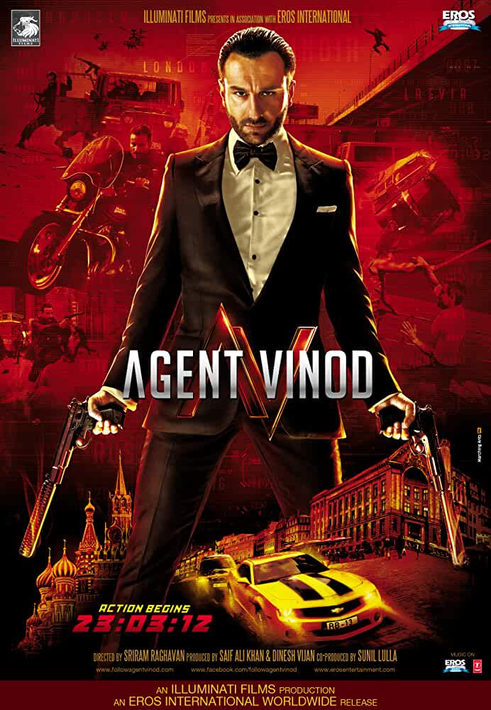 Agent Vinod 2012 720p HDRip full movie watch online free download at movies365.in