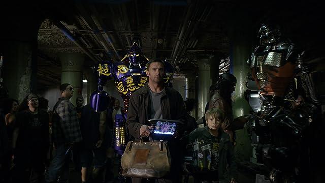 Hugh Jackman and Dakota Goyo in Real Steel (2011)
