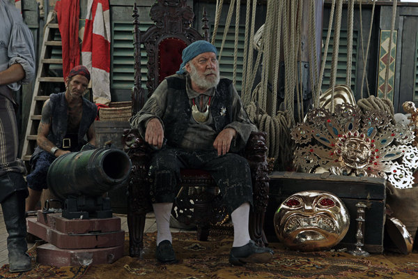 Donald Sutherland in Treasure Island (2012)