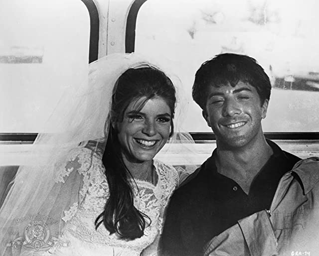 Dustin Hoffman and Katharine Ross in The Graduate (1967)