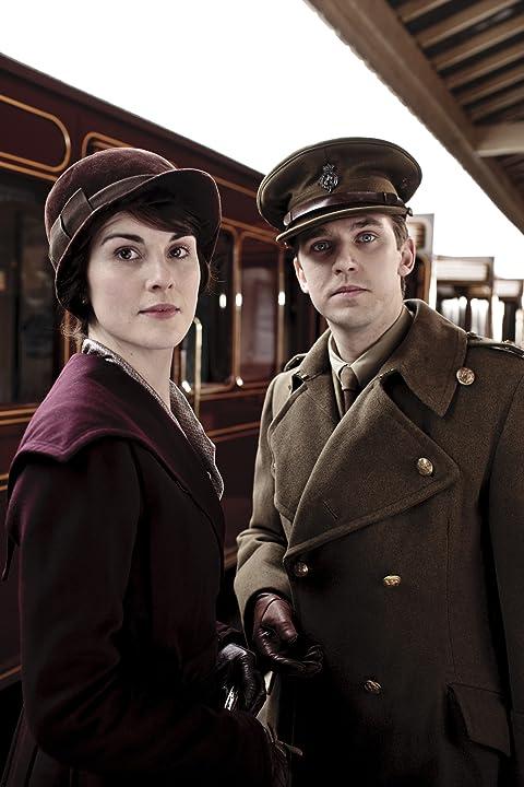 Dan Stevens and Michelle Dockery in Downton Abbey (2010)