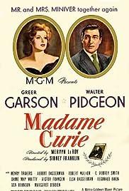 Madame Curie(1943) Poster - Movie Forum, Cast, Reviews