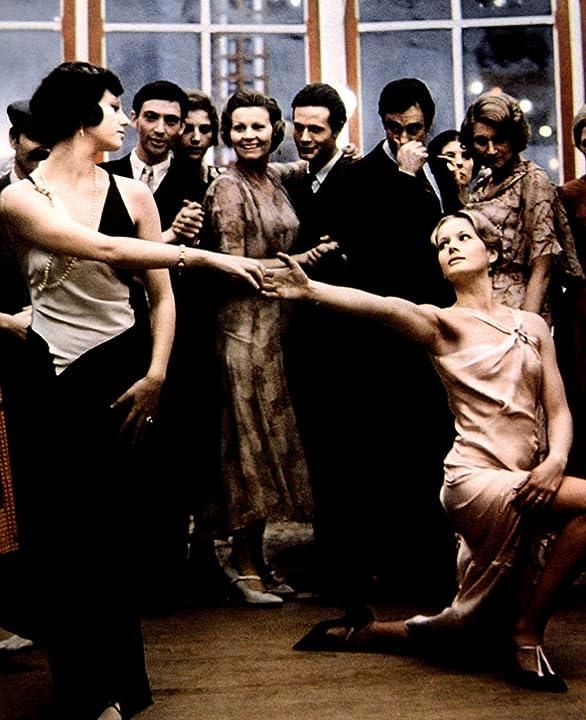 Dominique Sanda and Stefania Sandrelli in The Conformist (1970)