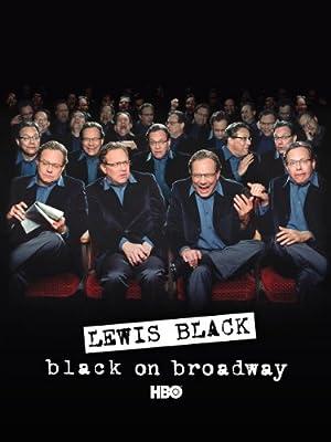 Lewis Black: Black on Broadway poster