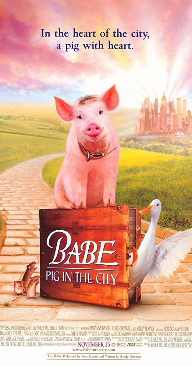 Babe Pig In The City 1998 - Imdb-5558