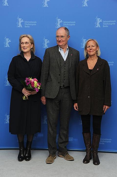Meryl Streep, Jim Broadbent, and Phyllida Lloyd