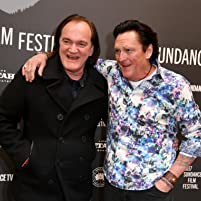 Quentin Tarantino and Michael Madsen