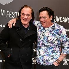 Quentin Tarantino and Michael Madsen