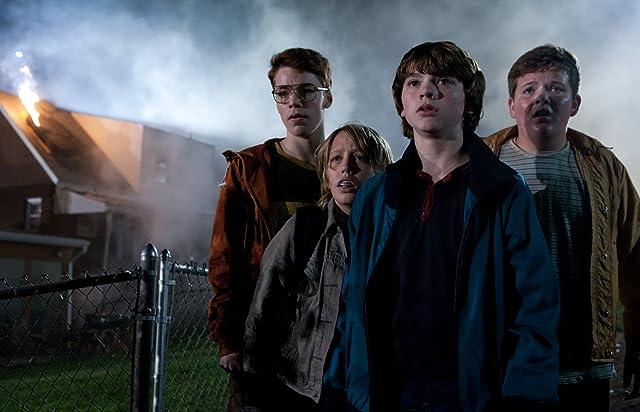 Ryan Lee, Joel Courtney, Gabriel Basso, and Riley Griffiths in Super 8 (2011)