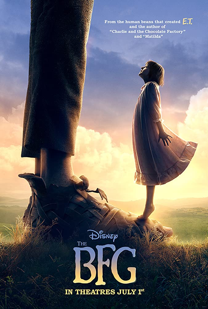 The BFG cartel de la película