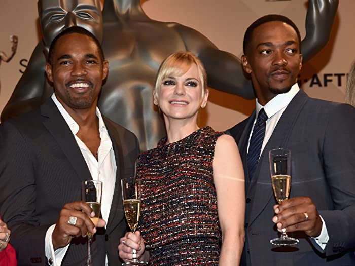Anna Faris, Jason George, and Anthony Mackie