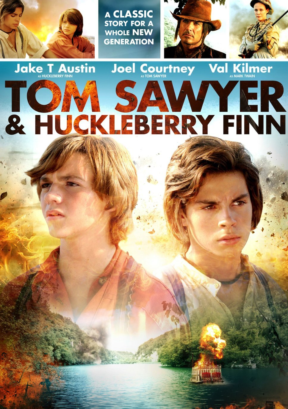 huckleberry finn actors Huckleberry finn grew up semi-homeless and neglected by pap, his alcoholic, abusive father, on the lowest rung of the missouri socio-economic ladder (except for slaves.