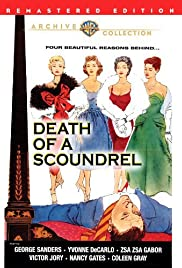 Death of a Scoundrel (1956) Poster - Movie Forum, Cast, Reviews