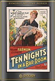 Ten Nights in a Barroom Poster