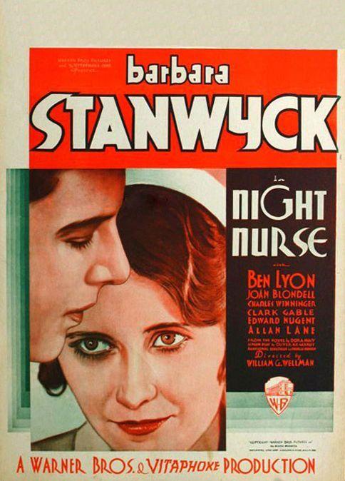 Barbara Stanwyck and Ben Lyon in Night Nurse (1931)