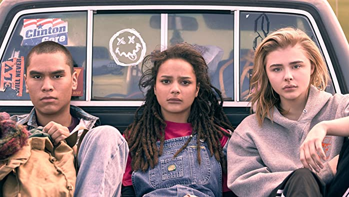 Forrest Goodluck, Jeong Park, and Sasha Lane in The Miseducation of Cameron Post (2018)