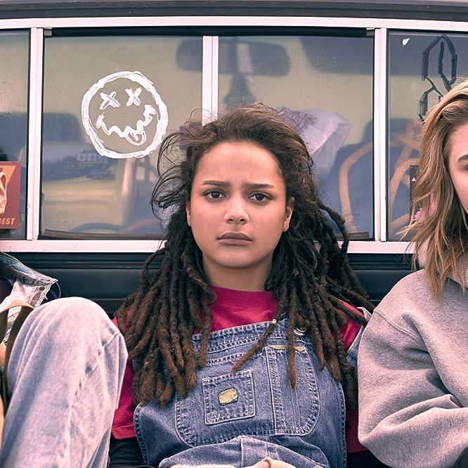 Chloë Grace Moretz, Forrest Goodluck, and Sasha Lane in The Miseducation of Cameron Post (2018)