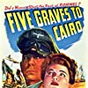 Anne Baxter and Erich von Stroheim in Five Graves to Cairo (1943)