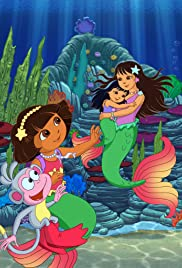 Dora's Rescue in Mermaid Kingdom Poster