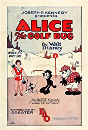Alice the Golf Bug Poster