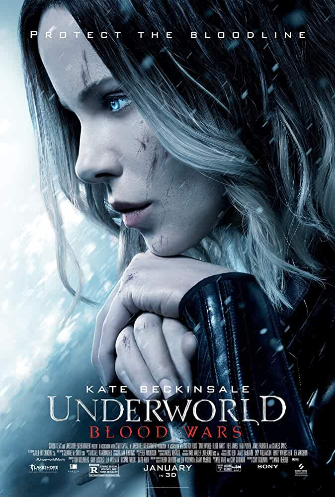 Poster Underworld Blood Wars (2016) Full English Movie Download 720p