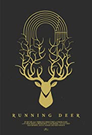 Running Deer Poster